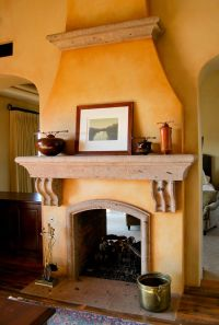 Fireplaces, Spanish style and Spanish on Pinterest