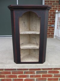 334 best images about Primitive wood cabinets on Pinterest