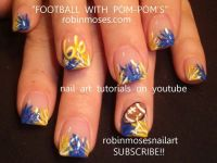 1000+ images about Sports Nails on Pinterest | Football ...