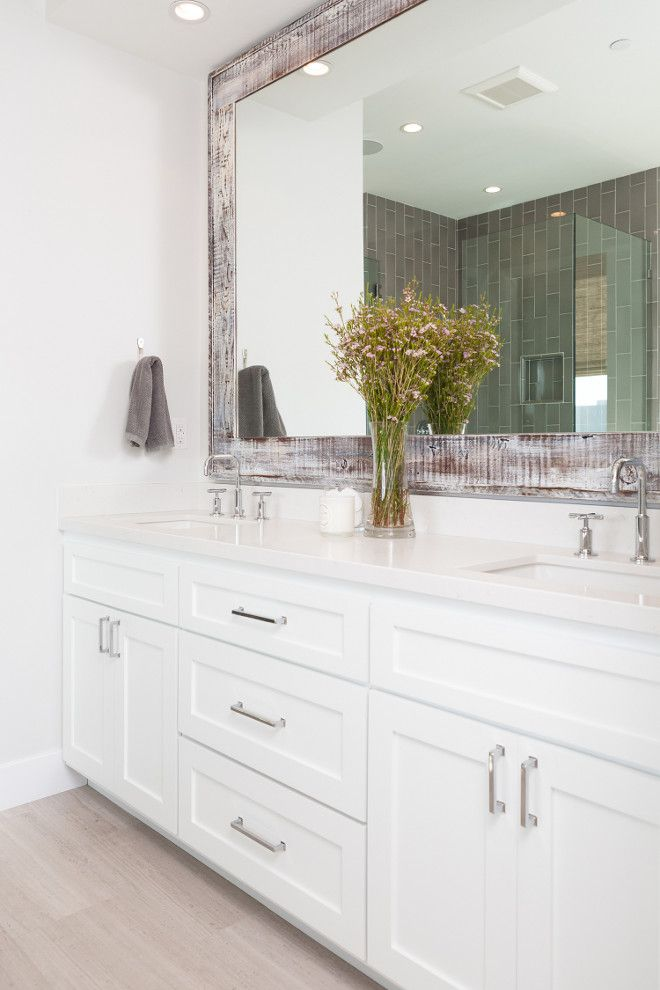 1000+ Ideas About White Bathroom Cabinets On Pinterest | Master