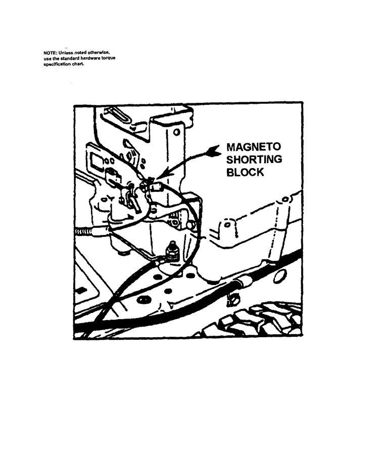 lawn mower engine diagram repair