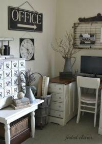 1000+ ideas about Farmhouse Office on Pinterest | Office ...