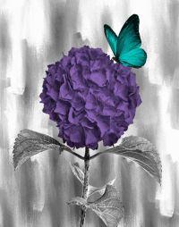 25+ best ideas about Purple wall art on Pinterest | Grey ...