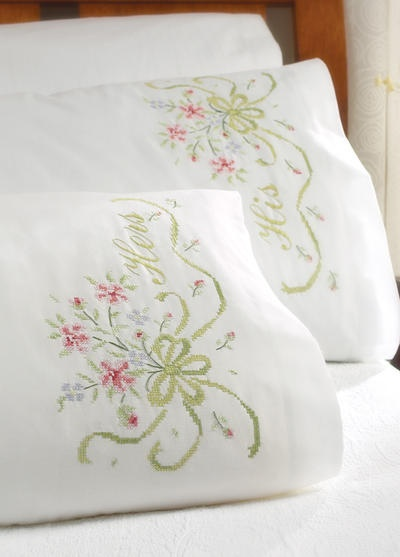17 Best Images About Counted Cross Stitch Pillowcases On