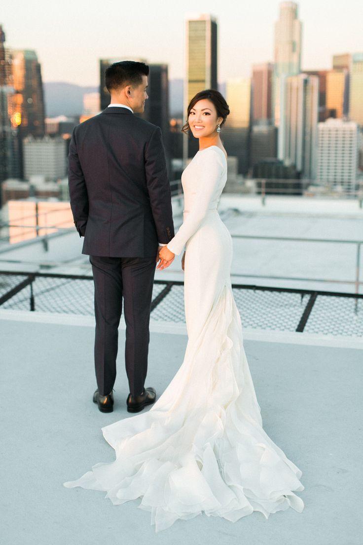 conservative wedding dress simple elegant wedding dress Sleek Modern Wedding Dresses that are Redefining Classic