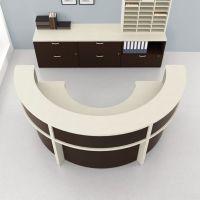 Semi Circular Desk   Home Office   Pinterest   Desks