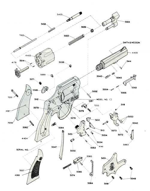 diagram of revolver