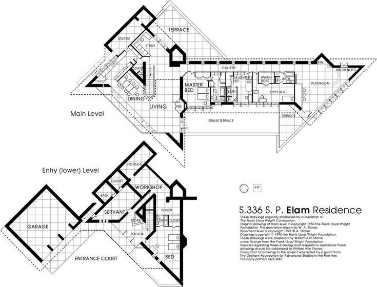17 Best Images About Architecture Fl Wright Usonians Etc