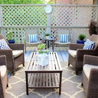Outdoor Patio Rugs A New Displayed Your Living Room Canada ...
