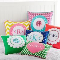Monogram Pillow Cover | PBteen | Nieces/Nephew | Pinterest ...