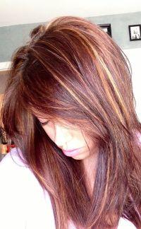 auburn hair color with highlights - Google Search | Auburn ...