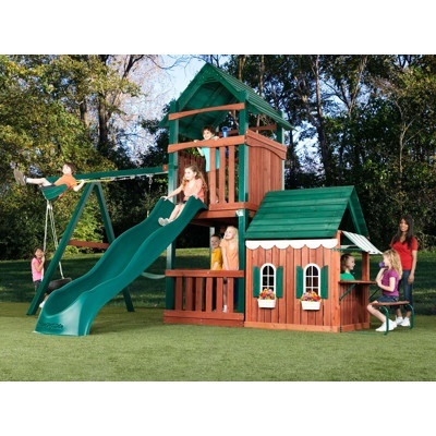 Cute Gorilla Wallpapers Swing N Slide Summer Fun Swing Set With Playhouse And