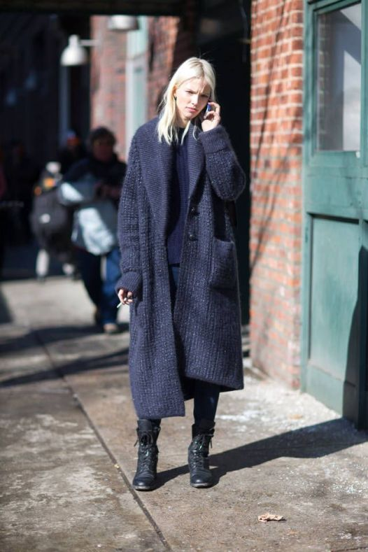 Check out these chic street style snaps from NYFW 2014. Click for more.: