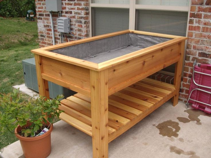 How To Build Raised Planter Boxes Google Search Yard