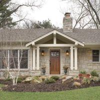 Front door pergola ranch | Front Porch and Deck Ideas ...