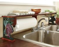 Grapes Over-The-Sink Shelf from Seventh Avenue . I have a ...
