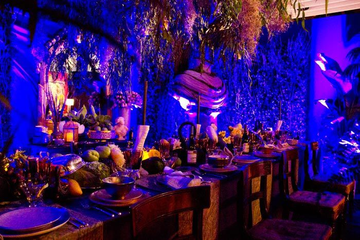 Tivoli Gardens Ontario A New Orleans Garden Dinner Party, à La Midnight In The