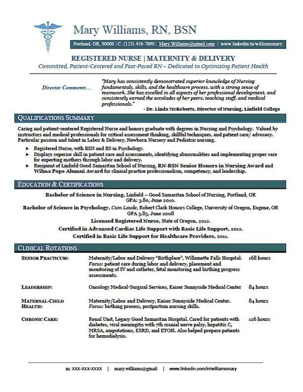 Midwife Resume Samples Jobhero Sample New Rn Resume Rn New Grad Nursing Resume