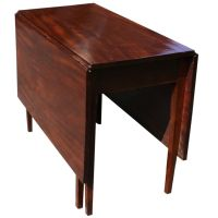 Mahogany Drop Leaf Table | From a unique collection of ...