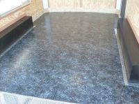 Enclosed Trailer Flooring Ideas - http://homemakerhero.com ...