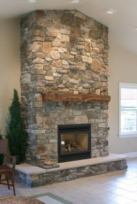 Fireplace Stone Ideas. Simple Before And After Fireplace ...