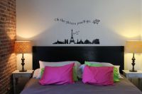 Eclectic Bedroom Wall Murals Ideas | Ideas for a teen ...