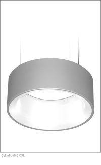 Delray Lighting | Cylindro 640 CFL | Atrium Pendants ...