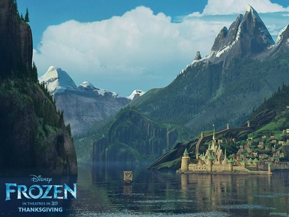 Thomas Kinkade Fall Wallpaper Experience The Movie Frozen In Norway On An Epic Trip To