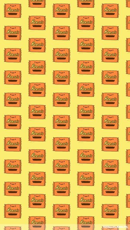 Gravity Falls Bill Cipher Wallpaper Iphone Reeses Chocolate Wallpaper Very Cute Reeses Chocolate