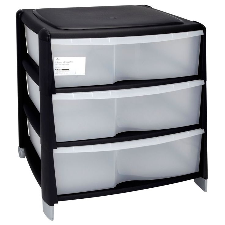 Storage Drawers For Clothes Wilko Storage Odyssey Chest 3 Drawer | Useful | Pinterest