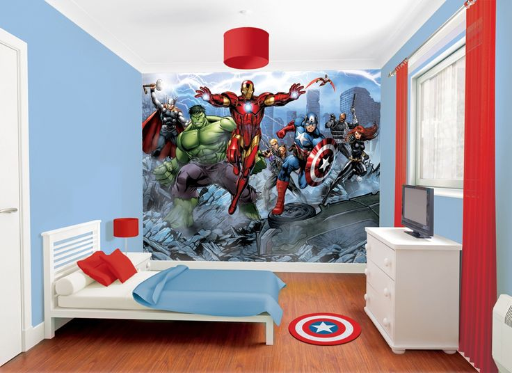 25+ best ideas about Avengers boys rooms on Pinterest