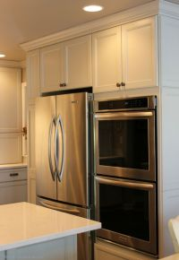 kitchen wall oven refridgerator placement - Google Search ...