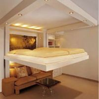 Spacy bed | Space saver, Awesome and Guest bed