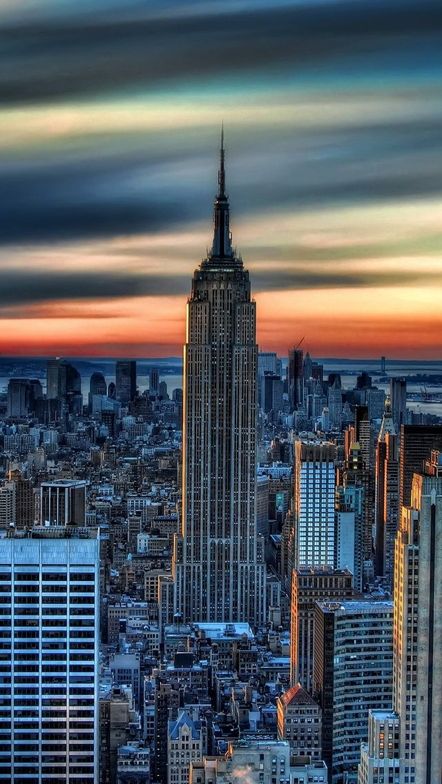 Times Square Iphone 6 Wallpaper New York City Daybreak Tap To See More Of The Beauty Of
