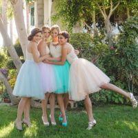 25+ best ideas about Tulle Skirt Bridesmaid on Pinterest ...