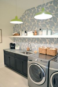 25+ best ideas about Laundry room wallpaper on Pinterest ...