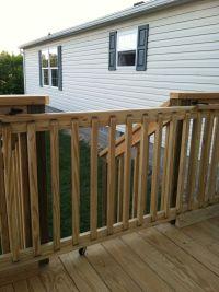 25+ Best Ideas about Deck Gate on Pinterest | Diy gate ...