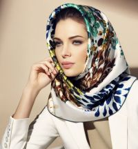 17 Best ideas about Silk Hair Scarf on Pinterest