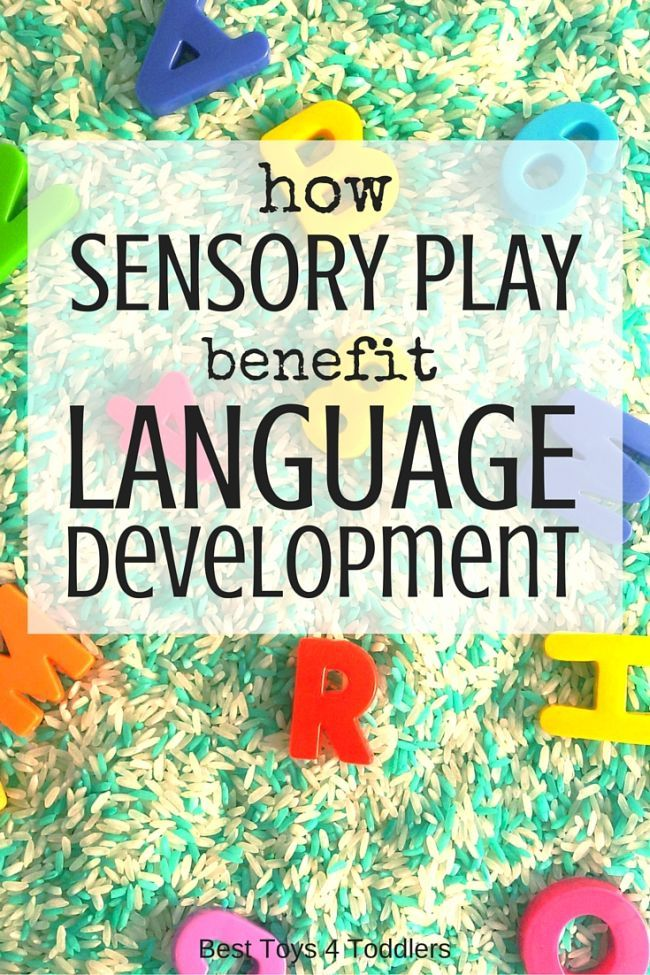 Toddler 4 Years Old Development How Sensory Play Benefits Language Development Language