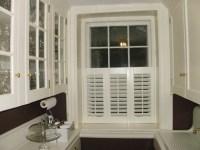Three panel half shutter   Beautiful Window Treatments ...