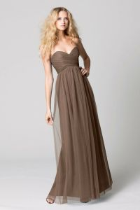 17 Best images about Brown Bridesmaid Dresses on Pinterest ...