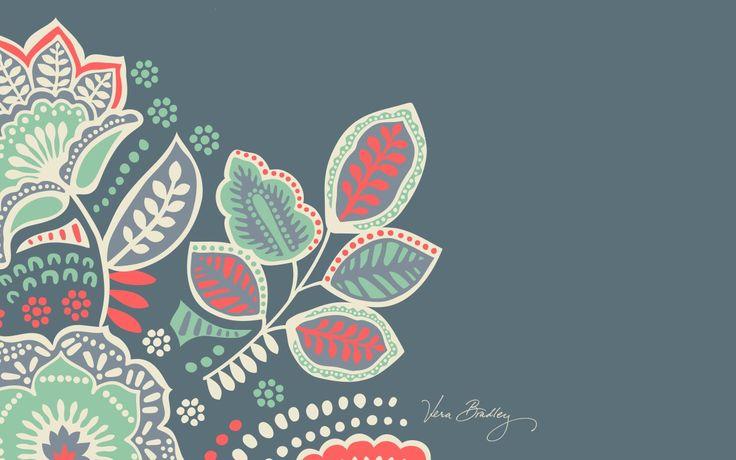 Lilly Pulitzer Wallpaper Fall Vera Bradley Desktop Download Nomadic Floral Desktop
