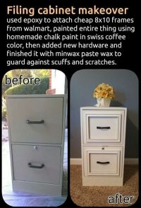 Upscaled filing cabinet. | Upscale | Pinterest | File ...