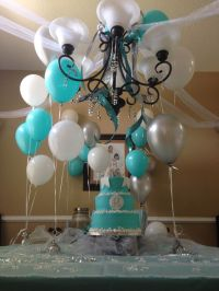 Sweet 16 Tiffany blue | Sweet 16 | Pinterest | Tiffany ...