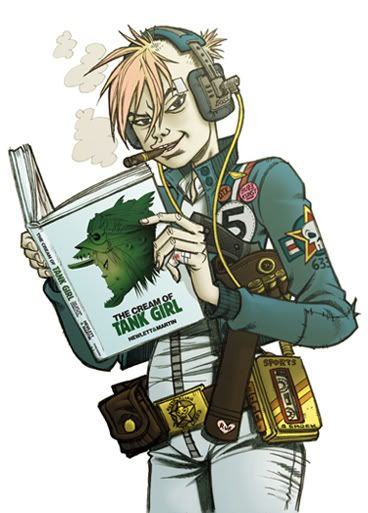 Tank Girl And Booga Wallpaper 17 Best Images About Tank Girl On Pinterest Toys Jamie