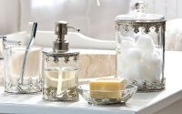 chic-glass-bathroom-accessories-sets-for-shabby-chic ...