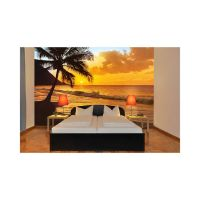Pacific Sunset Wall Mural | Beach/Lake walls for bedroom ...