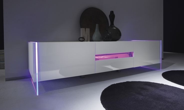 17 Best Images About Moderne Tv Meubels On Pinterest Mars Eos And Led - Design Tv Meubel Met Led Verlichting