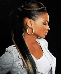 25+ best ideas about Weave Ponytail on Pinterest