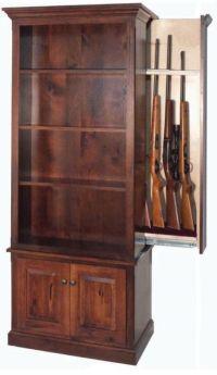 1000+ ideas about Gun Cabinets on Pinterest | Hidden gun ...